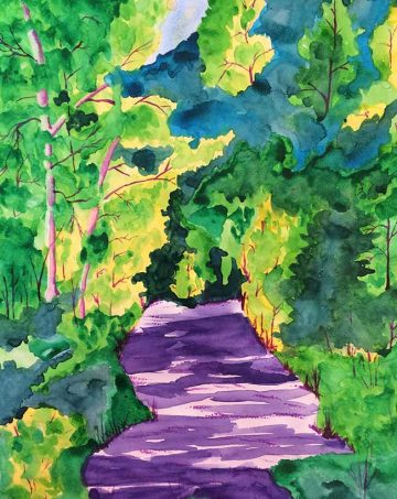 """Summer Woods Walk"""