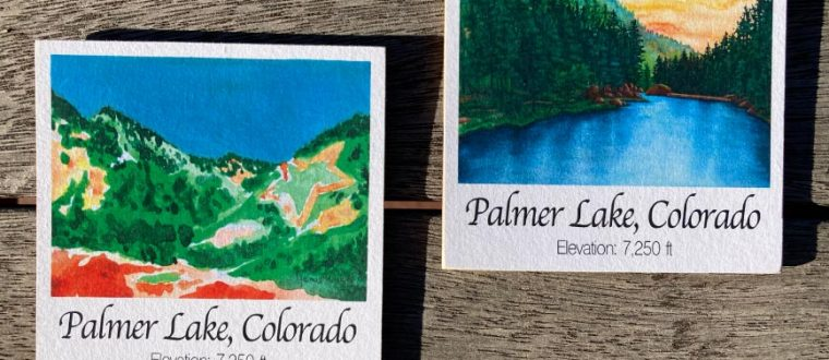 New Product: Colorado Wood Magnets