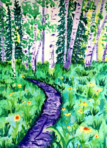 """Crested Butte Flower Trail"""
