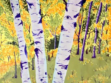 """Palmer Lake Autumn Aspens"""