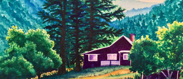 """""""Summer Cabin in the Rockies"""""""
